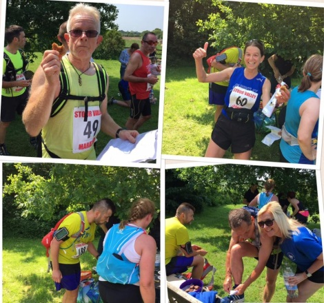 Great Bentley Running Club takes on the Stour Valley Marathon