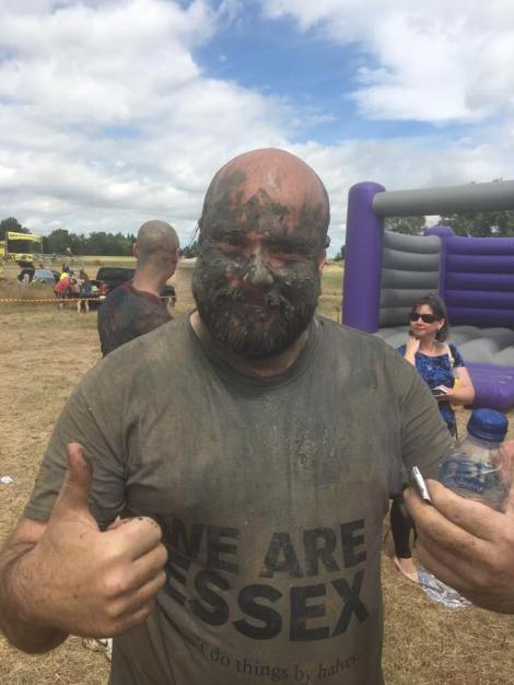 Mark at Mucky Races