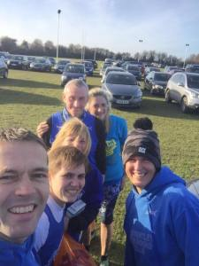 Great Bentley runners at the Witham Boxing Day 5