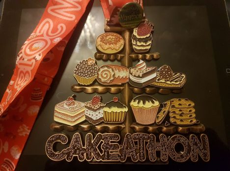 Paul Blackwell Cakeathon Medal