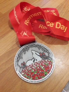 Remembrance Day 100th Anniversary Race Medal