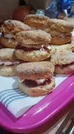 ... and scones ...