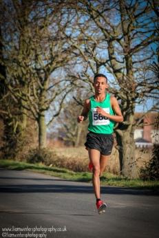 Ramadam Osman - 1st finisher