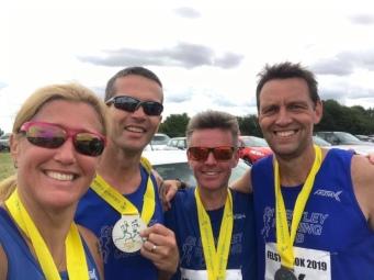 Felsted 10k runners