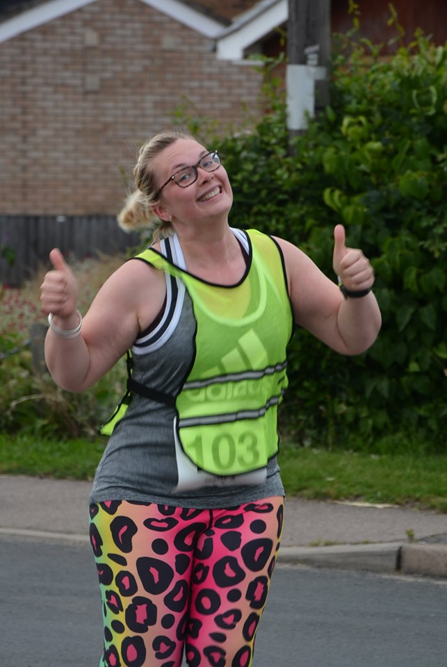 Thumbs up from Lizzie Salmon!