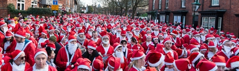 Lincoln Santa Run 2019